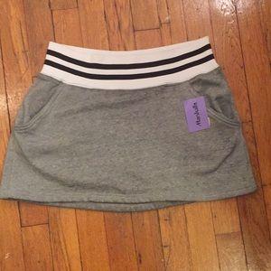 NWT Free People Gray Mini Skirt